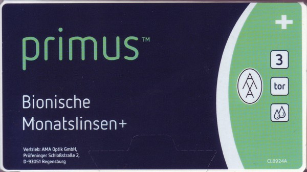 Primus Bionische Monatslinsen+ torisch 3er