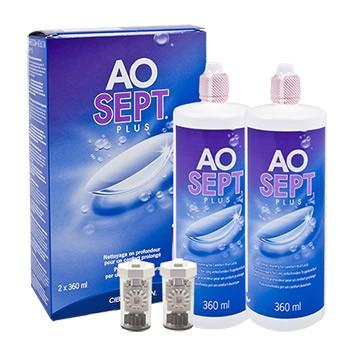 AO-Sept plus Doppelpack von Alcon
