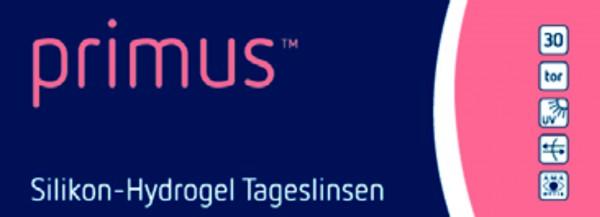 Primus Silikon-Hydrogel Tageslinse torisch 30er Pack