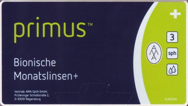 Primus Bionische Monatslinsen+ 2 x 6 Stück