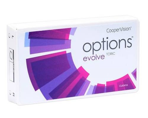 options evolve TORIC 3er