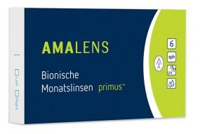 AMALENS Bionische Monatslinsen primus 2 x 6er