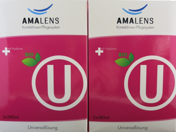AMA Lens bio U Universallösung 4x380ml