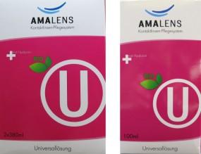 AMA Lens bio U Universallösung Kombipack 2x380ml + 1x100ml