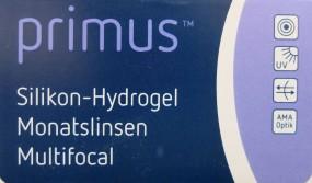 Primus Silikon-Hydrogel Monatslinse multifokal 3er Pack