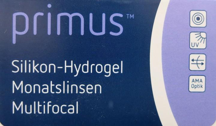 Primus Silikon-Hydrogel Monatslinse multifokal 6er Pack