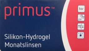 Primus Silikon-Hydrogel Monatslinse torisch 6er Pack